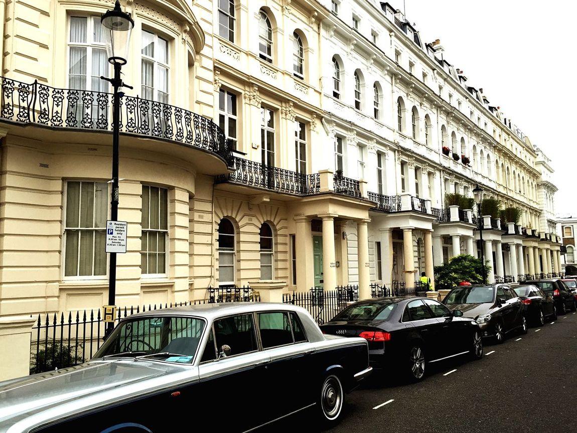 London. London Nothinghill Rolls Royce