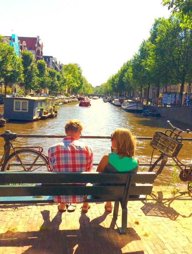 #Amsterdam  #Amstel #couple