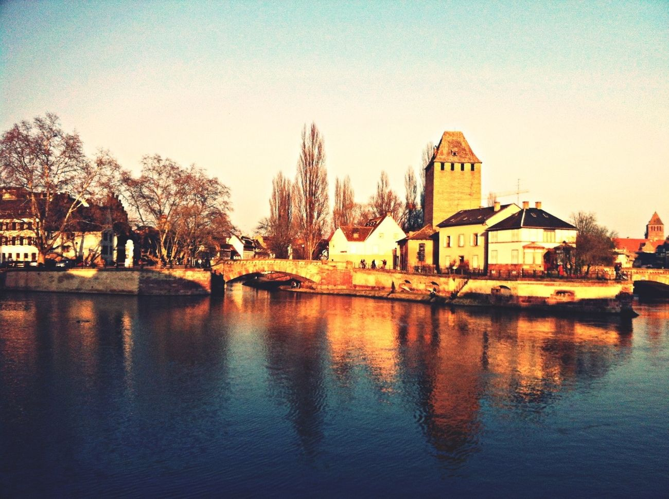 Architecture River Landscape History