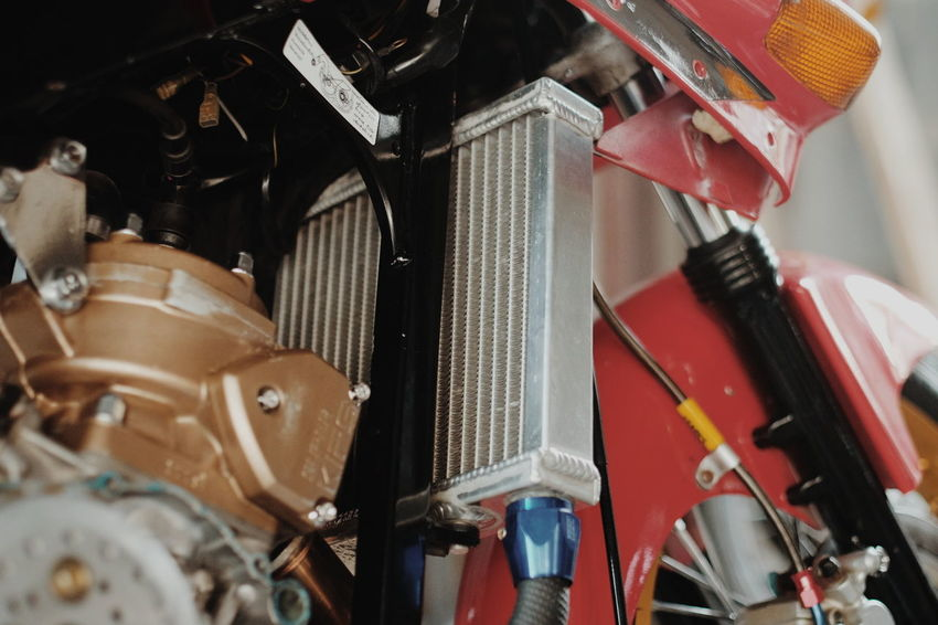 Aluminium Motorcycle Modified Engine 2T No People Indoors  Day Close-up