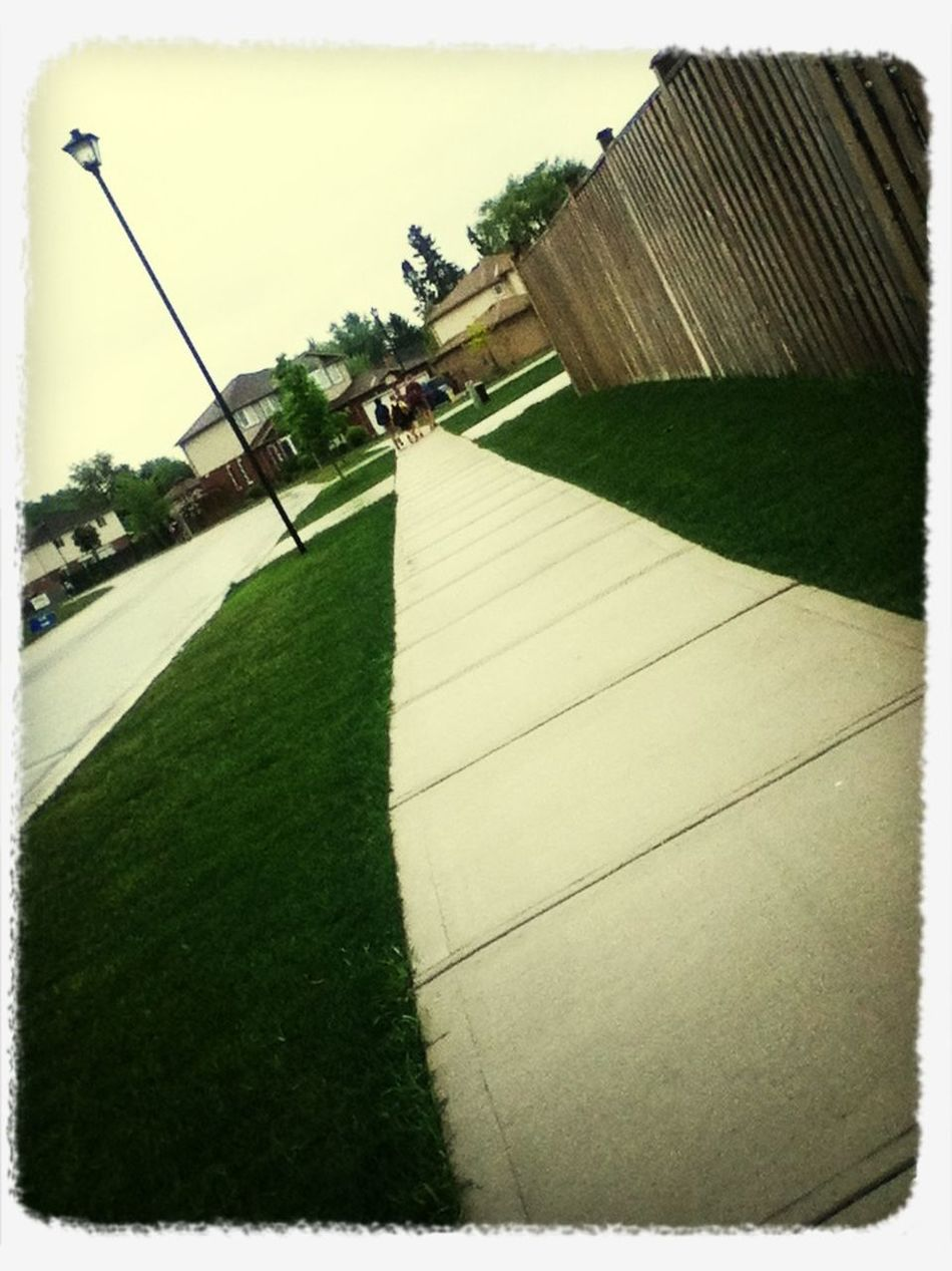 Very Boared Walking Home From School.