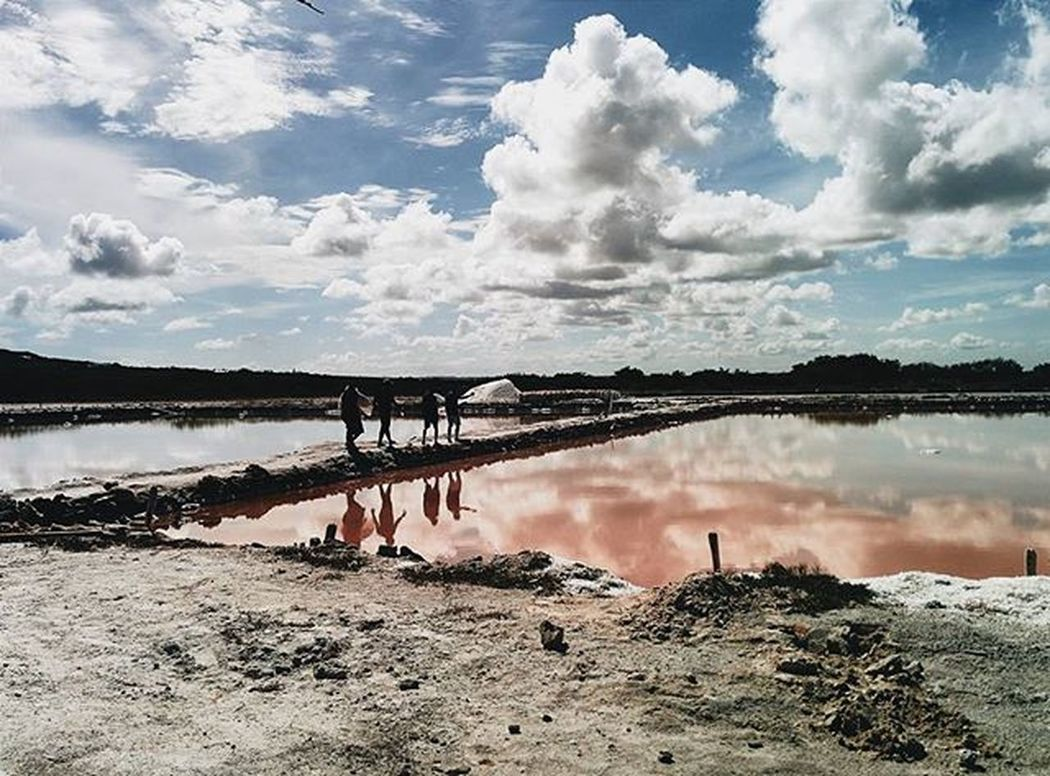 Las minas de sal de la Isla Cabra 3. Montecristi Elmorro Minasdesal IslaCabra Skyporn Thecaribbeanway Cloudporn