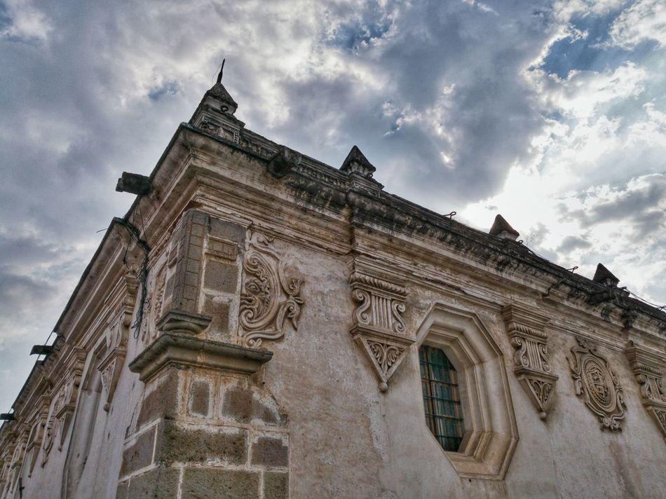 Architecture Building Exterior Architecture AntiguaGuatemala! ❤ UNESCO World Heritage Site Mobilephotography Guatemalaimpresionante Huawei P9 Leica Spanishcolonial Guatebella Barroque