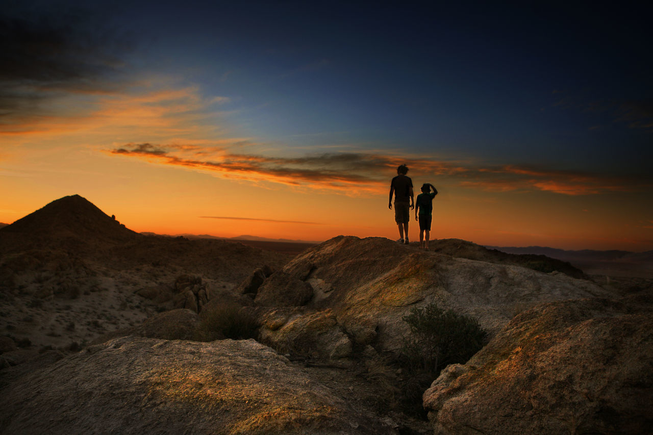 Joshua Tree National Park Sunset USA