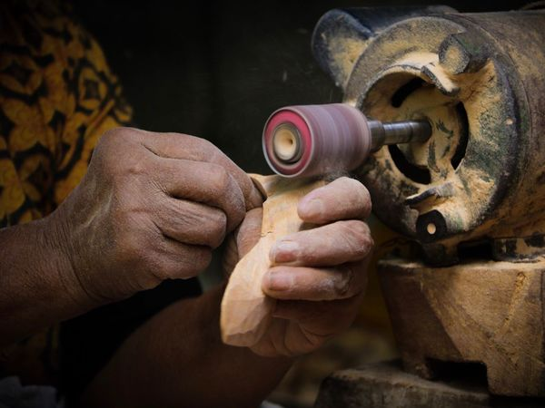 Making Skill  Workshop Human Hand Focus On Foreground Machinery Working Real People Indoors  Human Body Part Men Craftsperson One Person Close-up Day Manufacturing Equipment Instrument Maker Metal Industry People EyeEmNewHere The Week On EyeEm