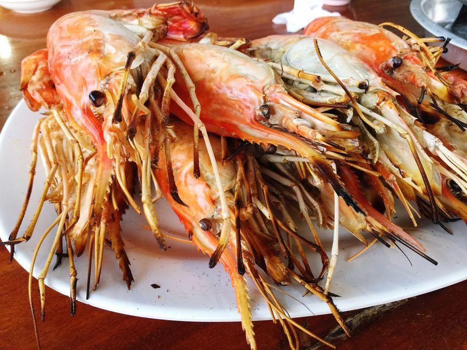 Seafood Food And Drink Freshness Food Close-up Prawn Shrimp