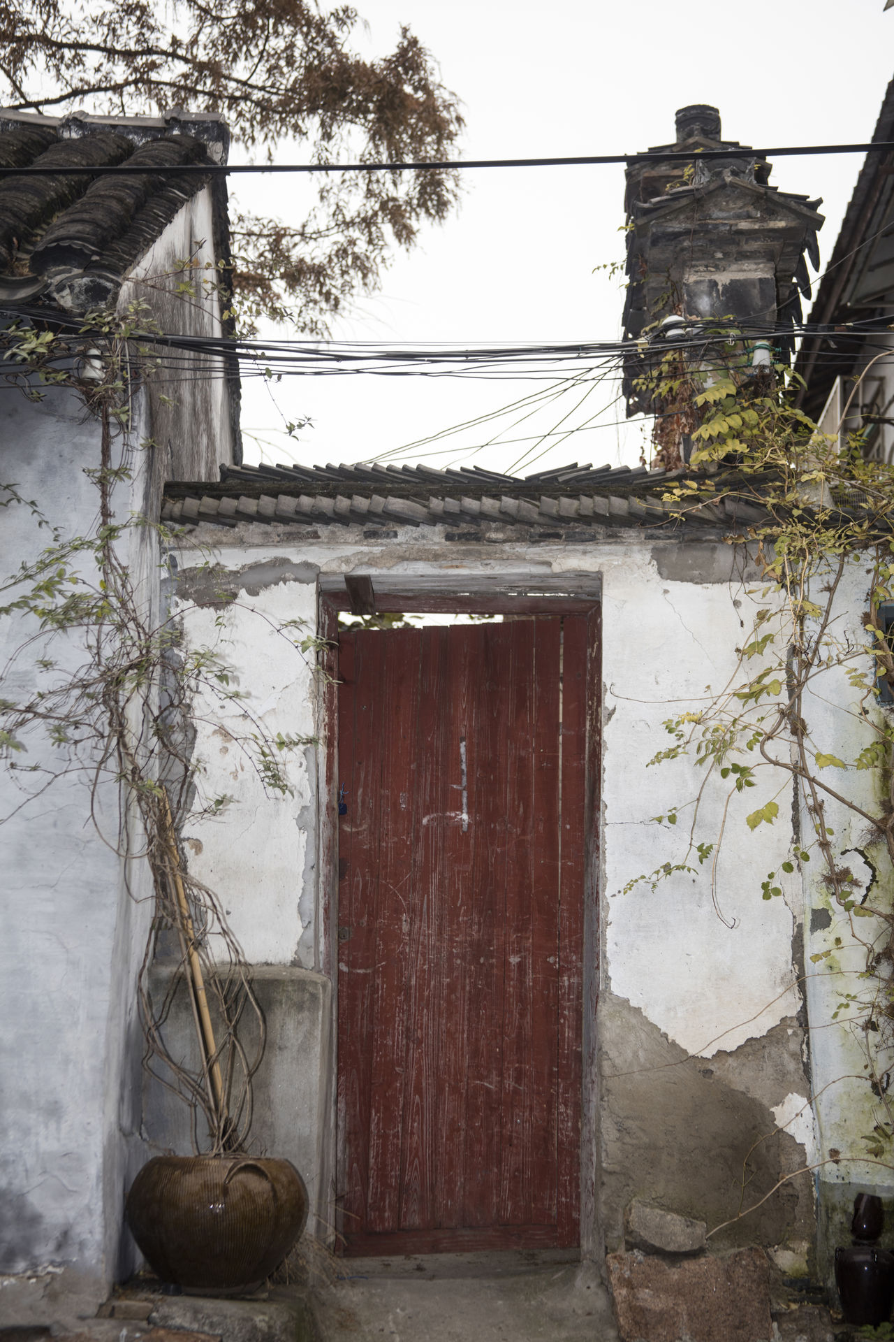 Architecture Building Exterior Built Structure Canon EOS 5DS China China Beauty Door Doorway Exterior House Old Pingjiang PIngjiang Road Residential Building Residential Structure Suzhou Suzhou China SUZHOU PINGJIANG ST Suzhou, China Venice Of The East Wood - Material