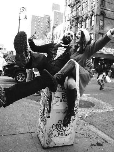 Carol City NYC Street Photography EyeEm Best Shots - Black + White EyeEm Best Shots New York City Santacon Streetphotography