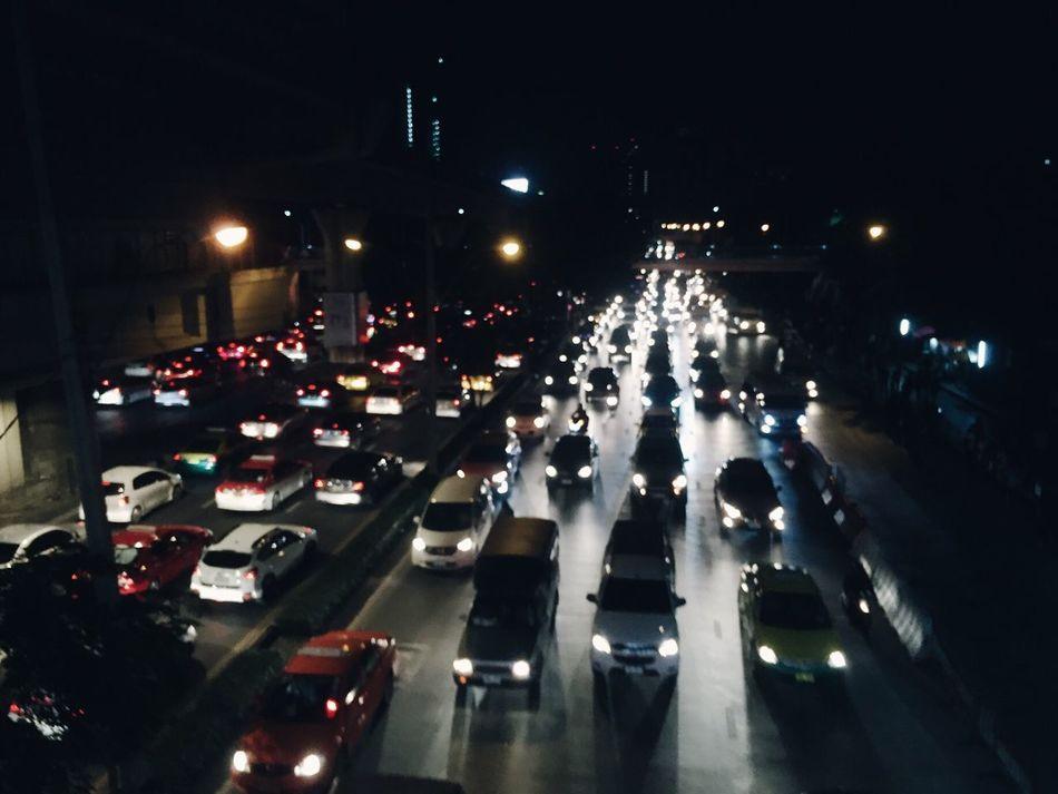 Beautifully Organized Thai Thailand Car Night MIDDLENIGHT Drive To  Where Travel