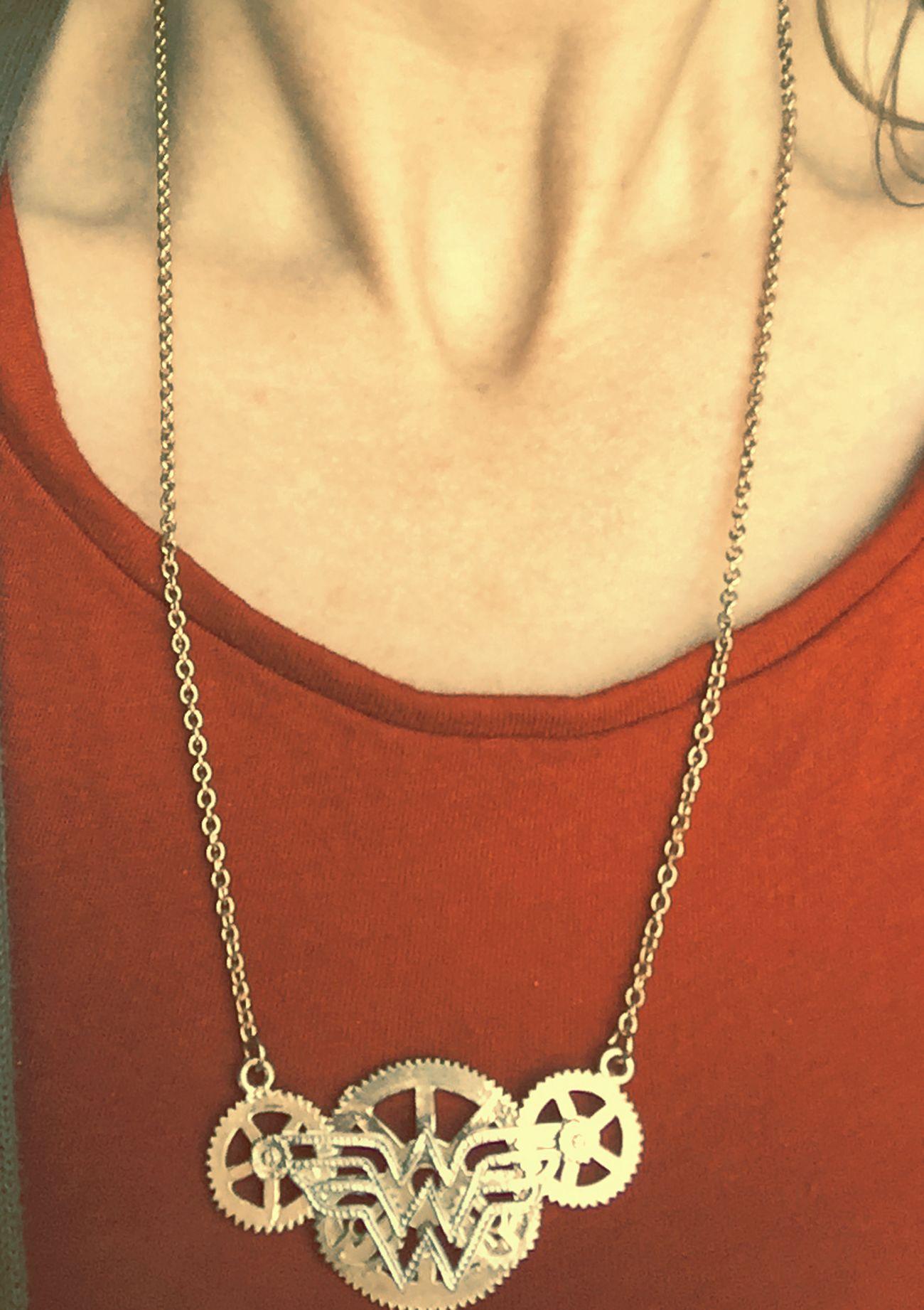 Actually, yes, I am Wonder Woman ! Wonderwoman Wonderwoman💪 Necklace ♥ 😜✨ Kicking Ass.