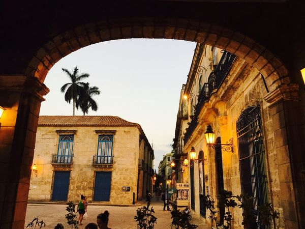 Havana Cuba Arch Travel Destinations Street Photography Trees Red Roof Building Exterior City Street Buildings & Sky Lifestyle Public Square Public Palace Cuba Collection EyeEm Gallery