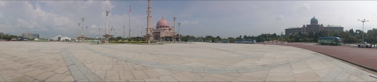 Architecture No People Outdoors Built Structure Politics And Government Day Sky Modern Building Exterior City Malaysia Adventure Travel Cultures Scenics Spirituality Religion Islam Mosque Masjid Putra Masjid Putrajaya