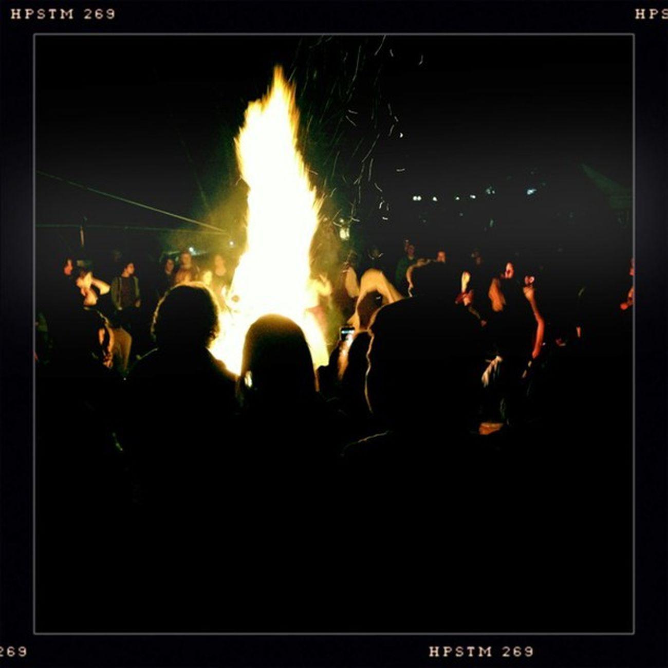 Beltane bonfire Hipstamatic Johns Pistil
