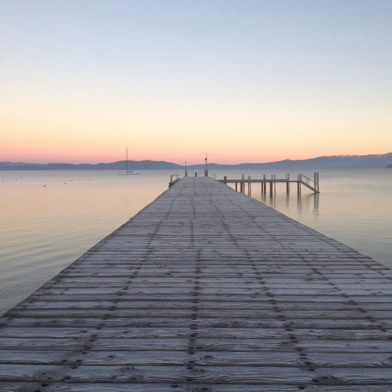 sitting on the dock of the bay Sunrise Nature Nature_collection Water_collection