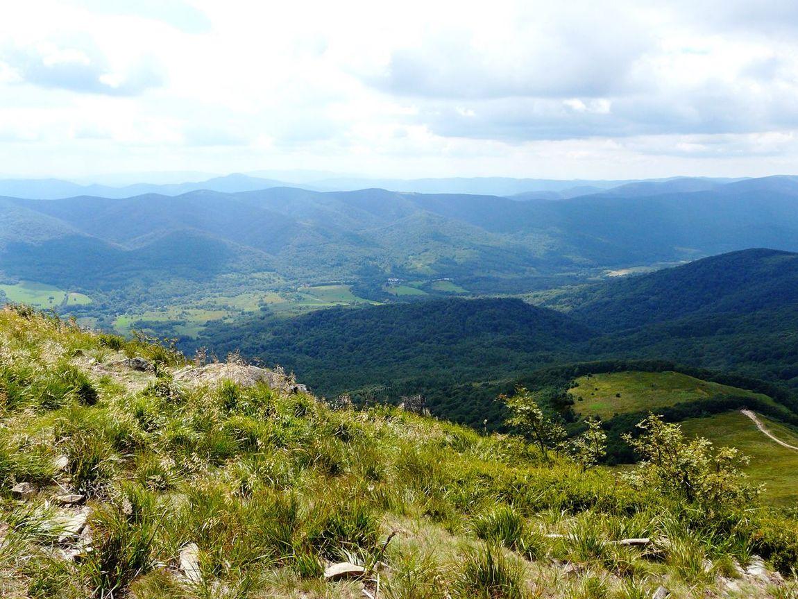 Bieszczady, Poland (04/08/16) Mountain Scenics Landscape Nature Bieszczadymountains Carpathian Mountains