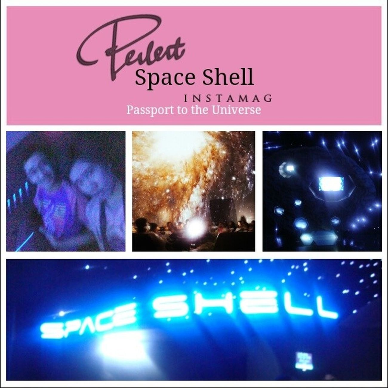 Took an unforgettable voyage from earth to the edge of the universe ?? SpaceShell