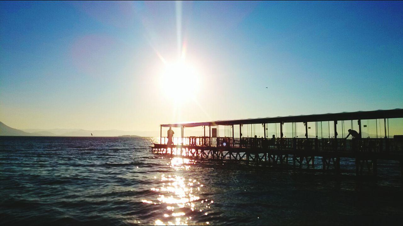 Sunset Seafood Sea And Sky Sky Collection