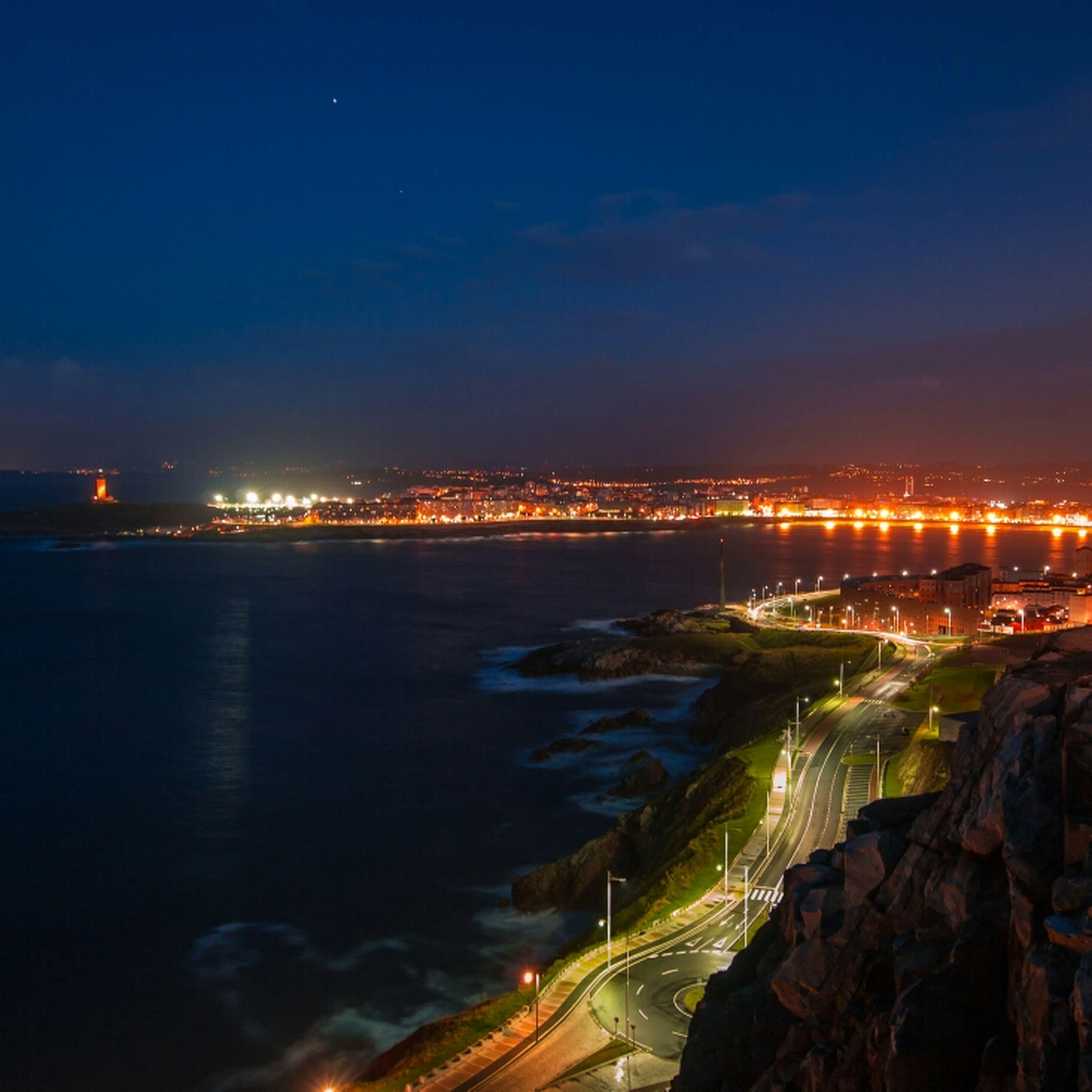 Night Galicia Nocturna De Coruña Nocturna