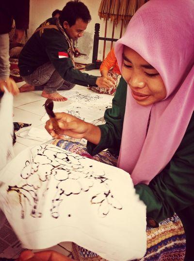 Having Fun Batik Course Batik Indonesia