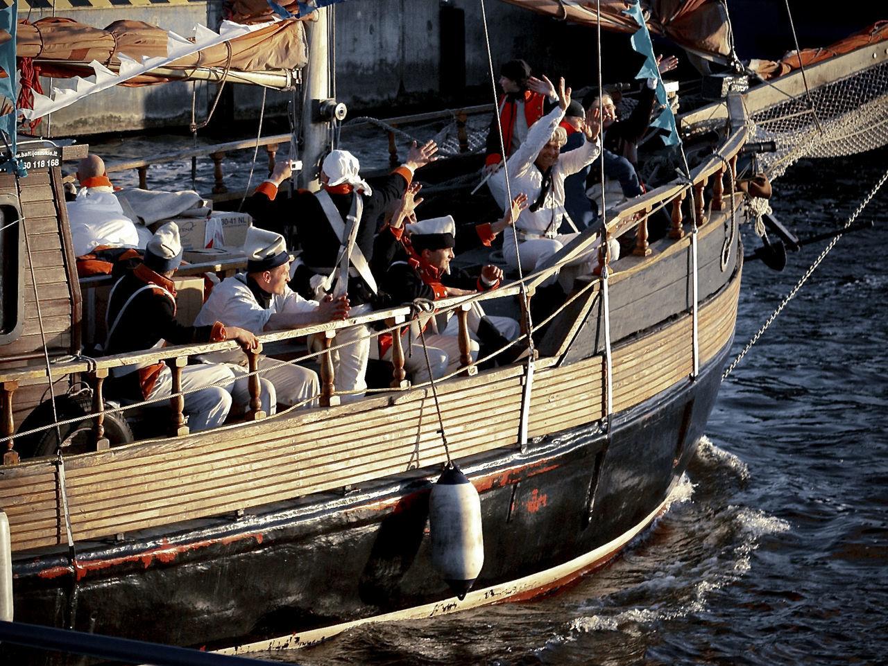 Day Gondola - Traditional Boat Moored Nautical Vessel No People Outdoors Railing Regatta Sport