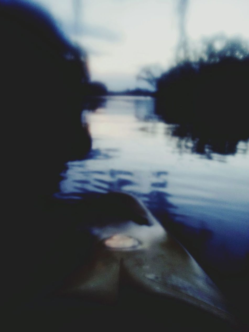 Look at the world through someone elses eyes... Canoeing VaalRivier Ontheriver Blurry