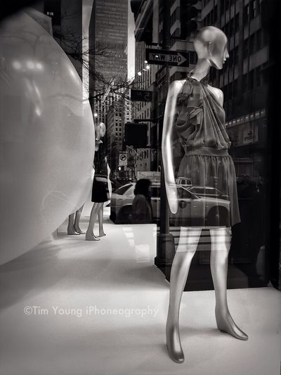 Windows   Saks Fifth Avenue   Installation: Sylvia Heisel And Scott Taylor   Presented By Ralph Pucci