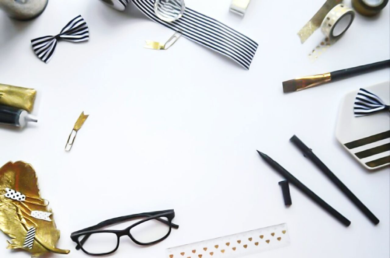 Stockphotography Workspace Styled Desktop Flatlayphotography Flatlay Close-up Studio Shot No People WashiTape Calligraphy Design Handlettering Lettering Entreprenuer Creative Photography Brandidentity Branding Photography Branding Blackandwhite Brand Photography Gold Styled Stock Art Art Supplies