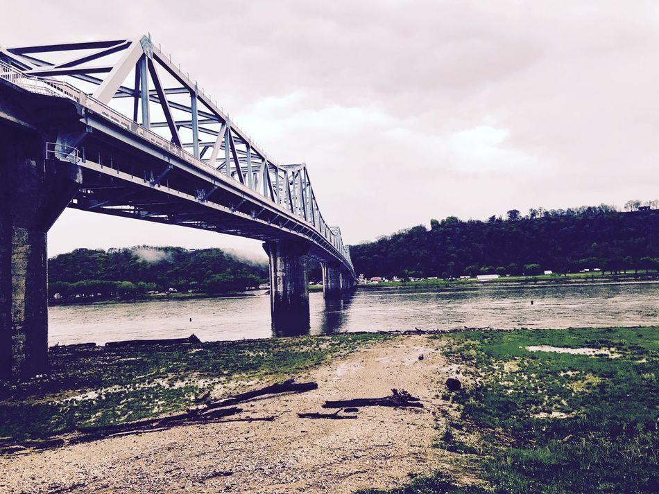 Bridge - Man Made Structure River Bridge No People Madison