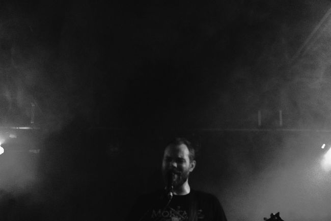 .::Pallbearer::. Pallbearer Rocking Out Great Venue Good Sound Headbanging Moshing Heavy Metal Doom Metal Black And White Black And White Excellence