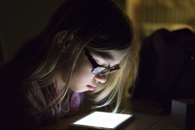 Internet Mobile Conversations Nighttime Lights