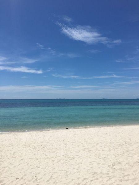 Beach Vitamin B White Sands Beach Sea Sand Horizon Over Water Sky Blue Water