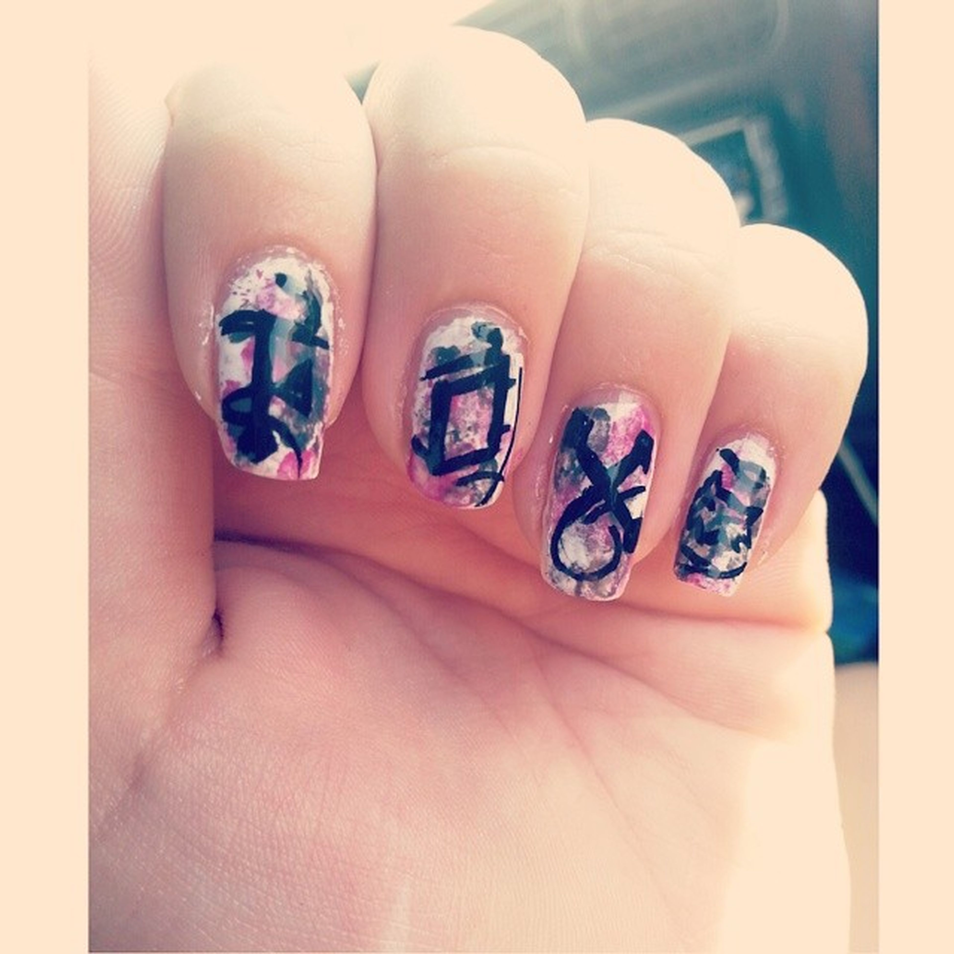 nails painted ✌ Nails Painted Fox Foxnails