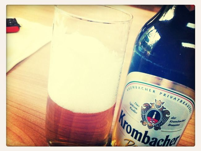 Krombacher Saturdaynight Hanging Out ✌️✌️✌️