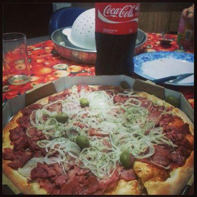 Pizza Cocacola Corinthians Depois BREJAGELADA