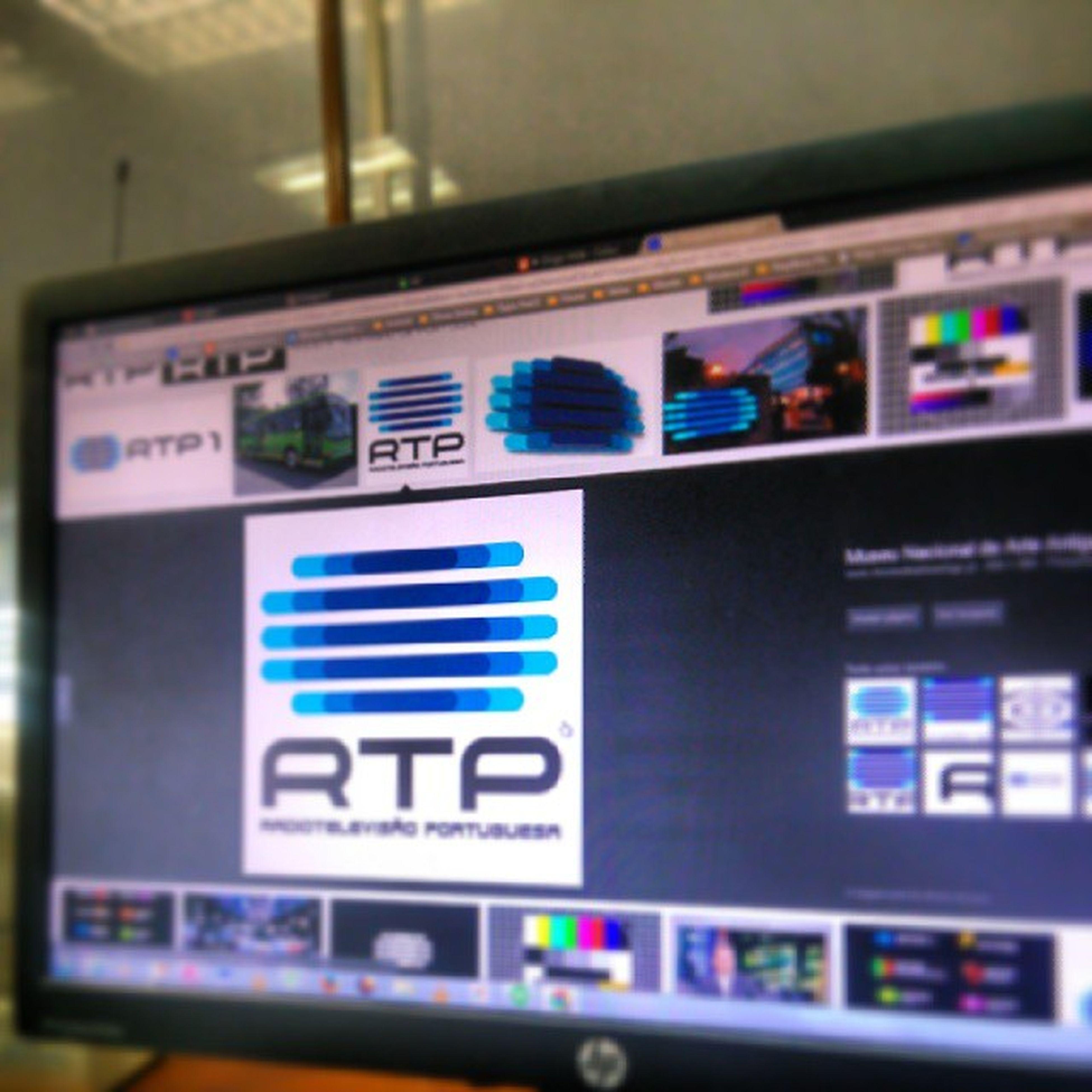 Aquele momento em que a RTP nos filma para o telejornal!! Barulhodasluzes BSBPorto Porto
