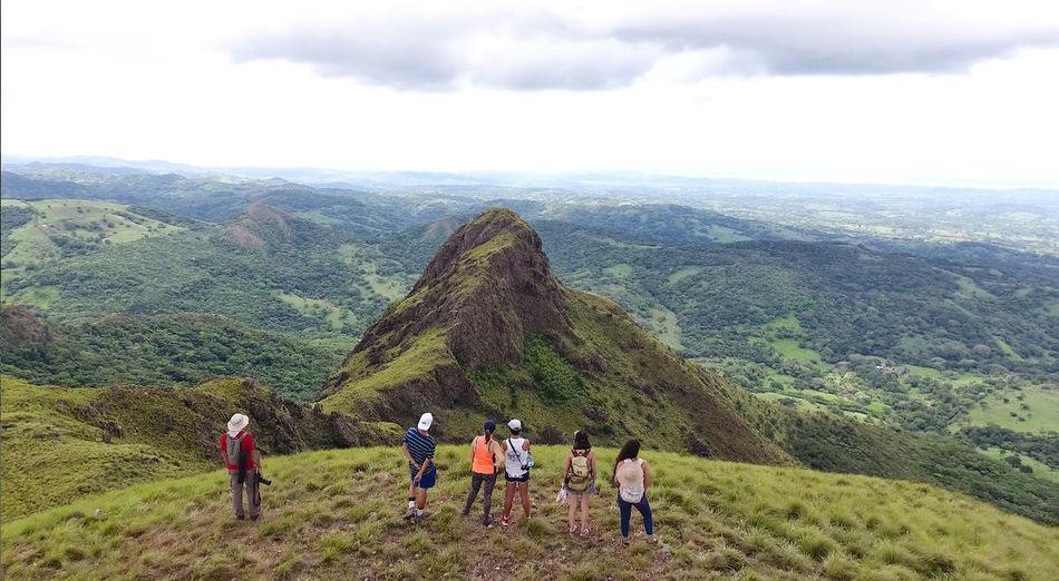Viaje al Cerro Pelado en Canas Guanacaste Adventure Beauty In Nature Cloud - Sky Day Exploration Landscape Lifestyles Men Mountain Nature Outdoors Real People Sky Tranquility Women