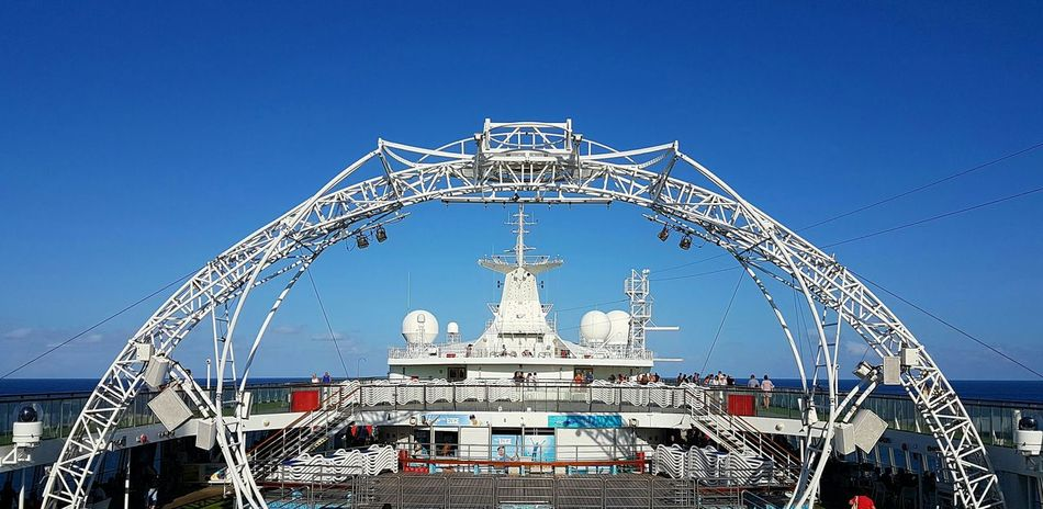 Cruise Ship Party Travel Sky Outdoors Bridge - Man Made Structure No People Fame Day sea ocean