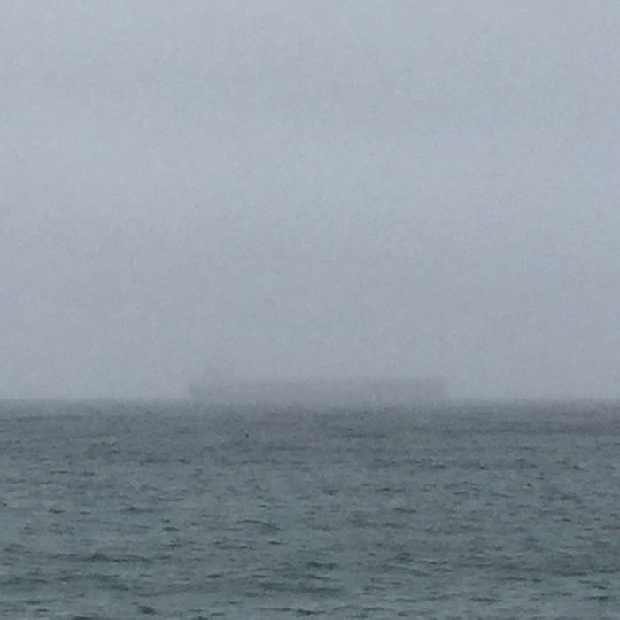 Where did summer go? Cloudscape Misty Morning Sea Mist Misty Grey Sky Skylovers Grey Sky_collection Clouds And Sky Summer Lovecornwall Cornwall Life Simple Whereisthesun Ghostship