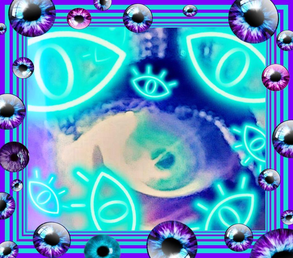 Multi Colored Eye4photography  Bright Colors Photo Manipulation Filters & Effects Abstract Clip Art Artistic Edit Envision The Future EyeEm EyeEmBestEdits Eyeball Selfie EyeEmVision1 EyeballEm