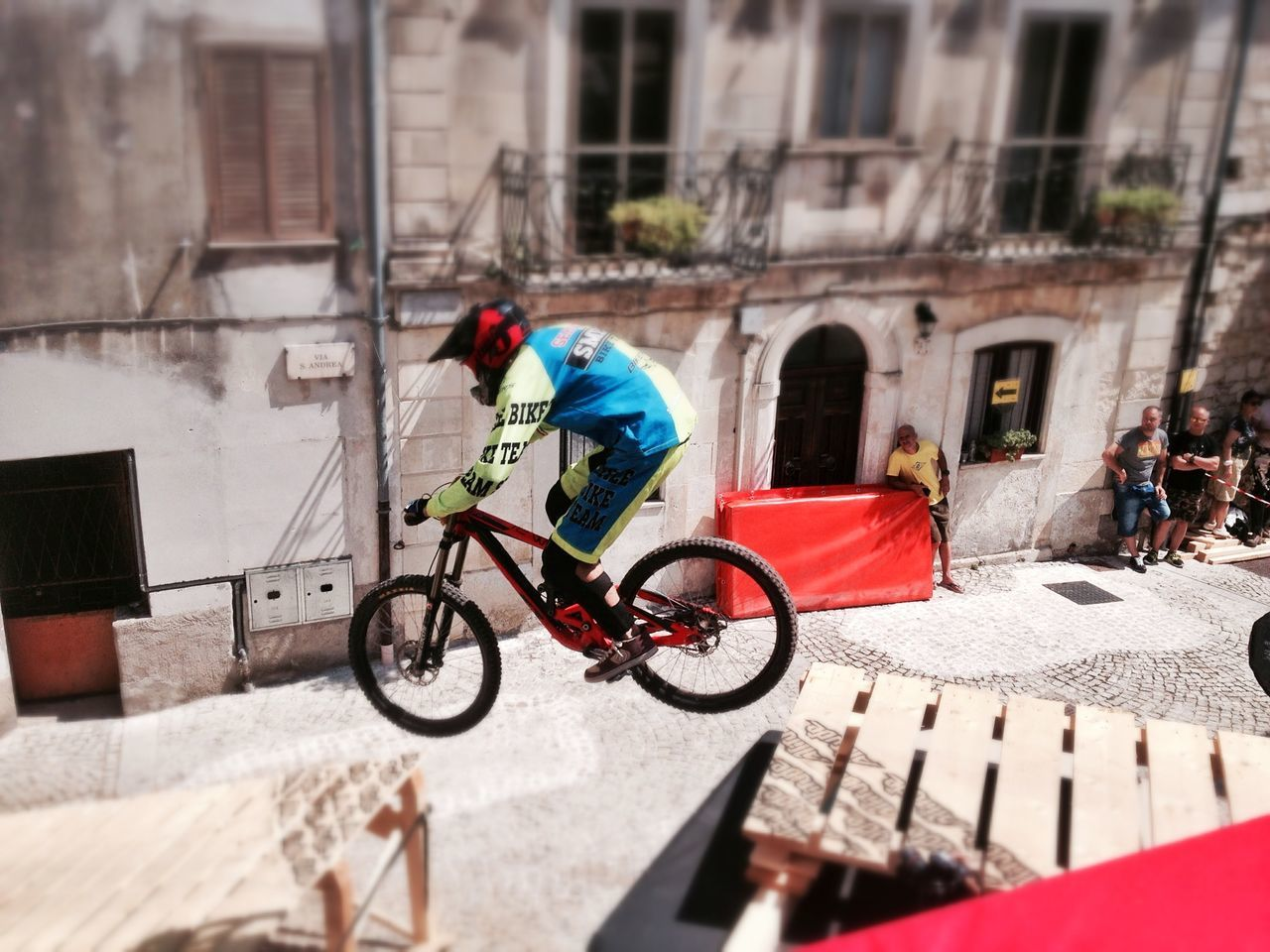 Downtown Pretoro 23 Agosto 2015 MTB Mountainbike Downhill Downtown Ride Abruzzo Italy Pretoro Bycicle