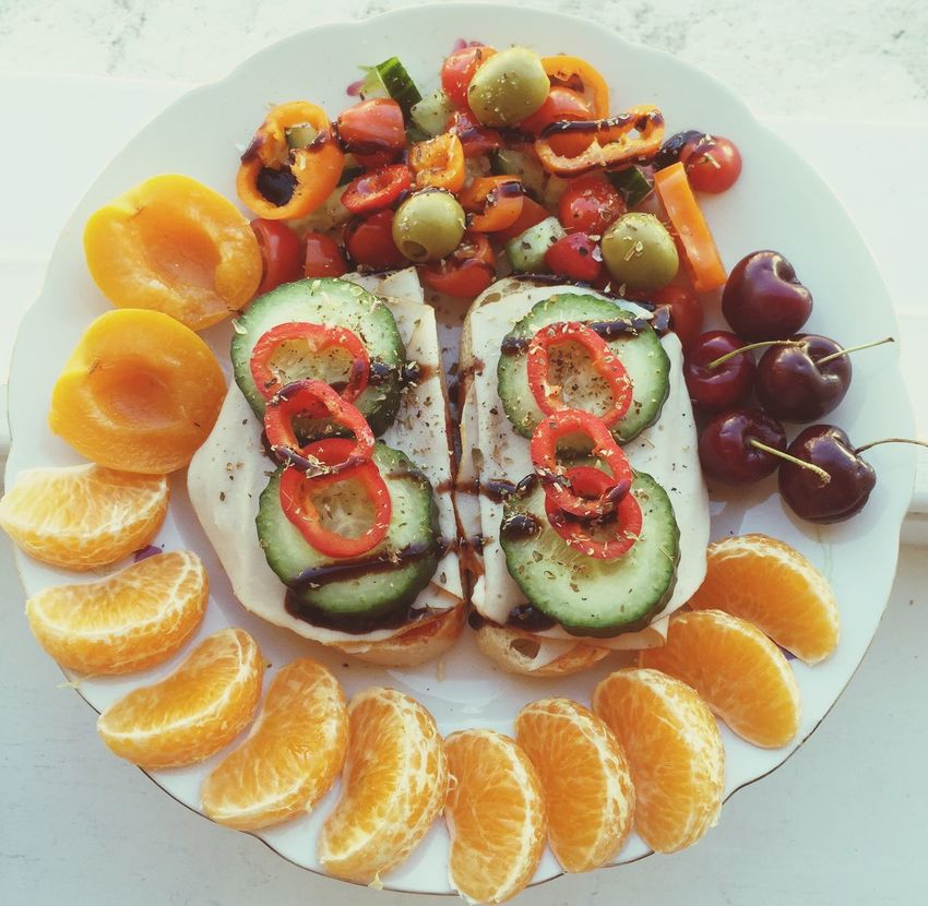 Lunch Healthy Food Meal Toasted
