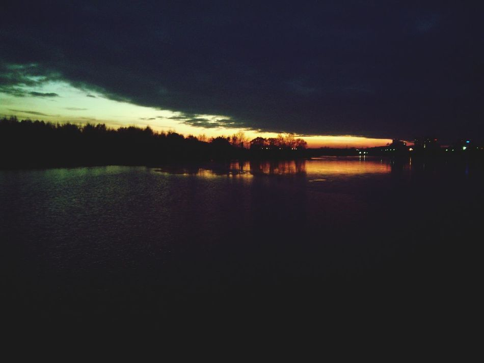 River And The Sun