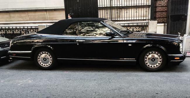 UWS | Manhattan Rolls Royce Alternate Side Parking UWS Manhattan NYC Convertable Luxury Automobile Timyoungiphoneography Summer2016 Gothams_ambassador