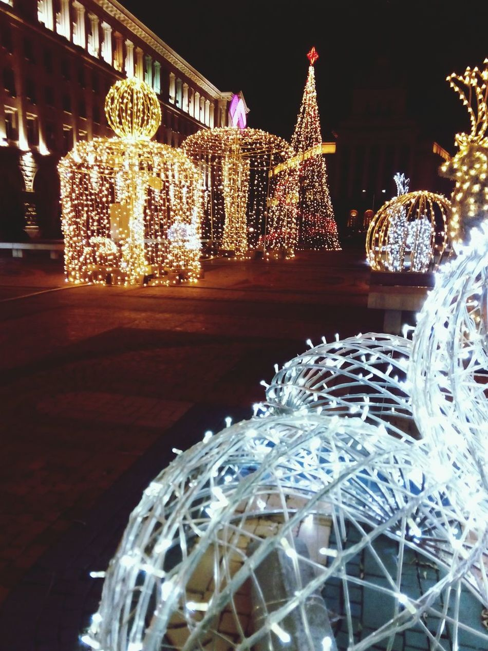 Christmas Lights Nightlights Bulgaria