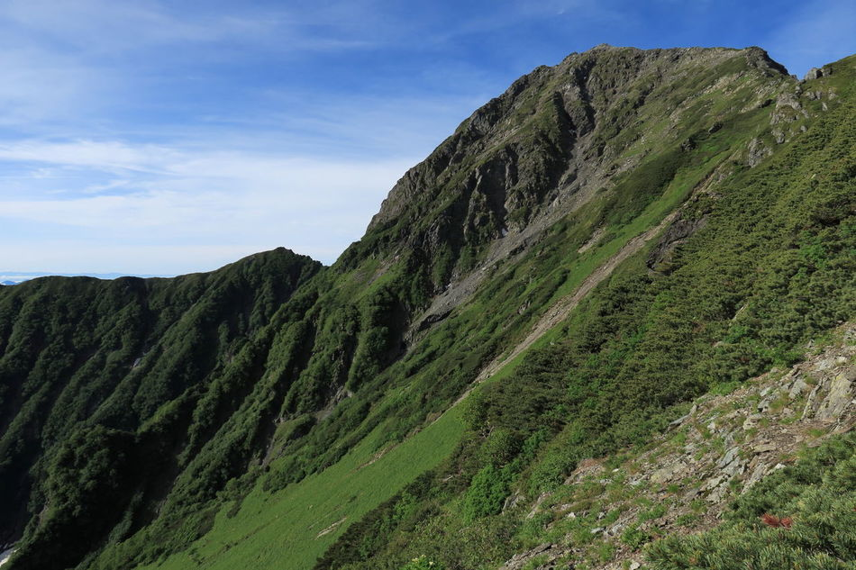 北岳とバットレス Mt.Kitadake Mountains Summit Mountains And Sky Mountain Hiking EyeEm Best Shots - Nature From My Point Of View 北岳 in Japan
