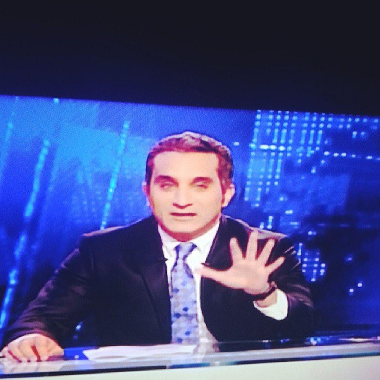 It's on Bassem Yossef Elbernameg