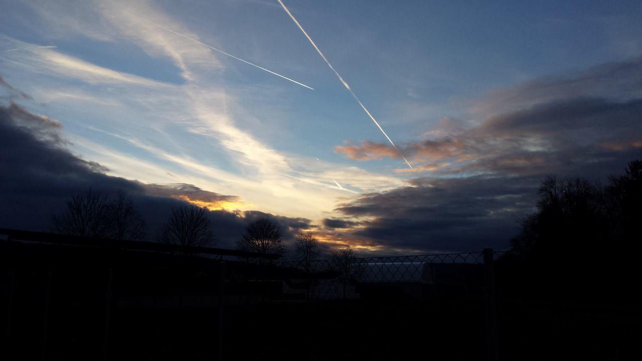 Last Light Evening Sky Sunfall Urbanlife Amazing sky tonight on the way home with Lilly Fox???