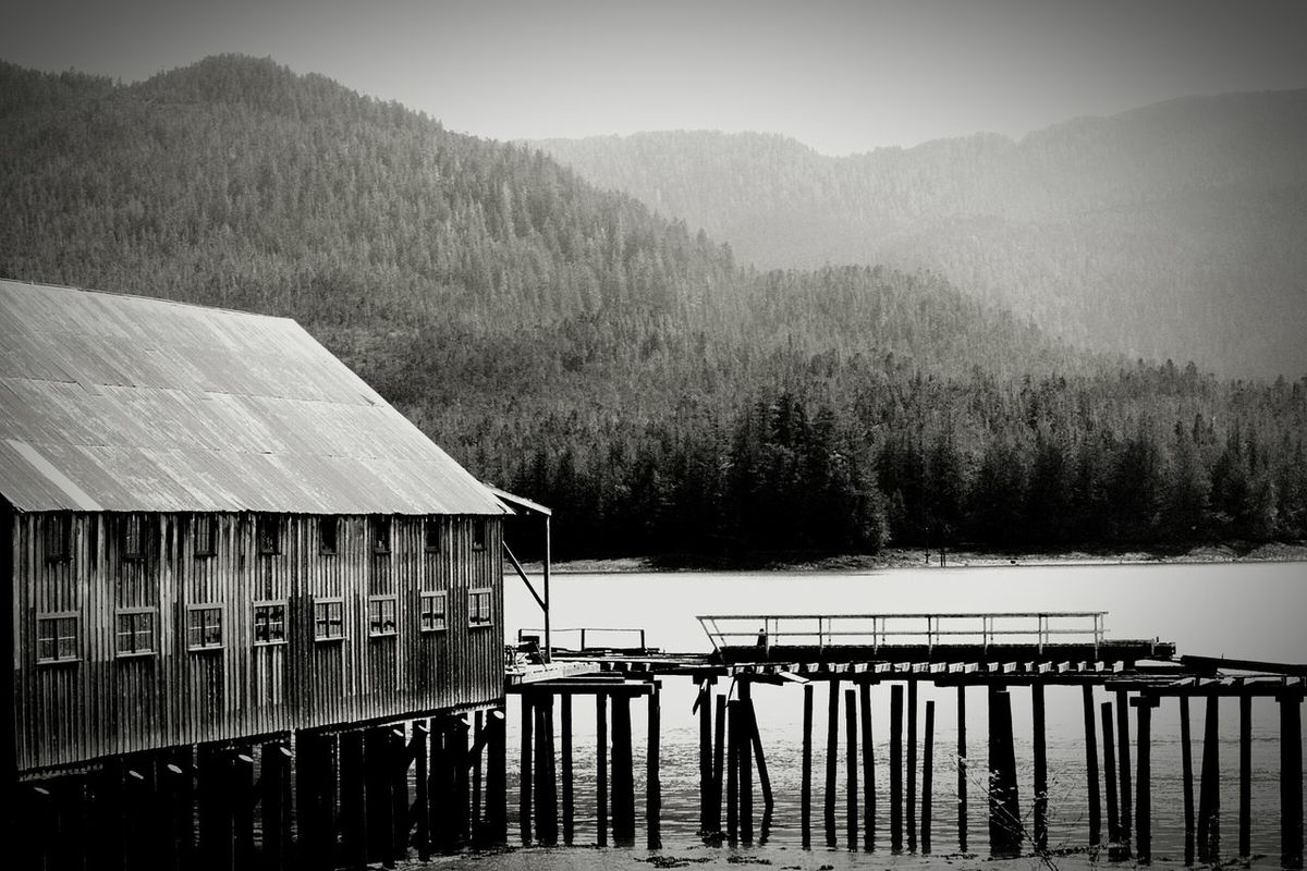 old fish cannery. Cannery Beautifulbc Old Buildings Pacific Ocean Blackandwhite B&w B&w Photography Dock Docks