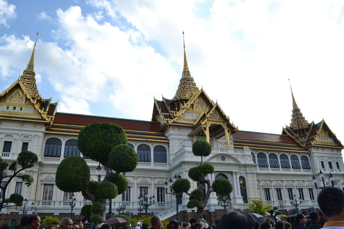 The Grand Palace in Bangkok, Thailand Architecture Architecture ASIA Bangkok Building Exterior Built Structure Grand Palace Palace Place Of Worship Religion Royal Residence Temple Thailand Travel Destinations