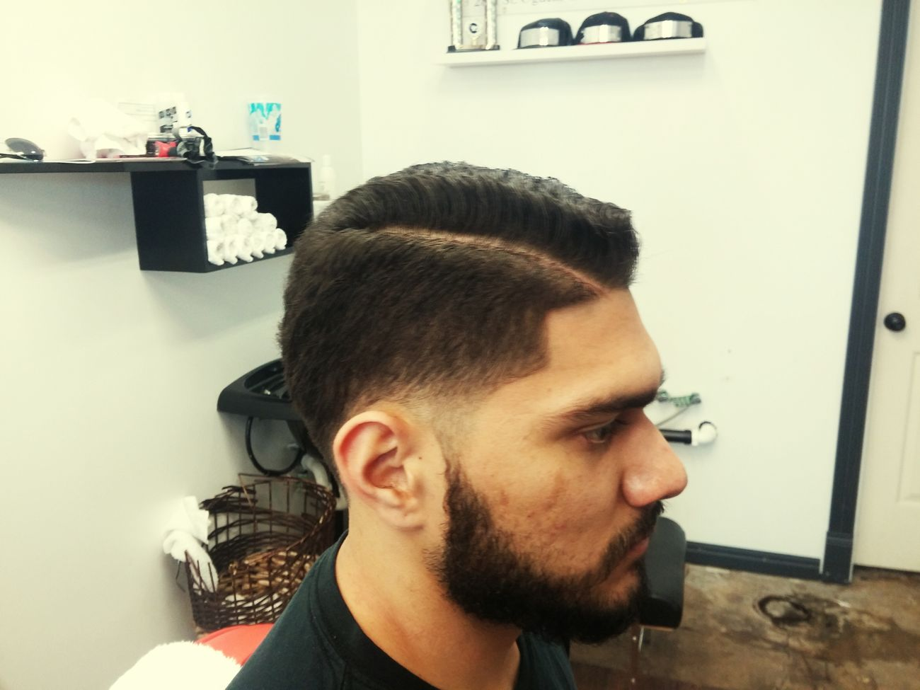 Little hard part taper. Barberlife Barber Barbergame Straightrazor Ogdenbarber